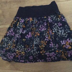 Floral free people skirt